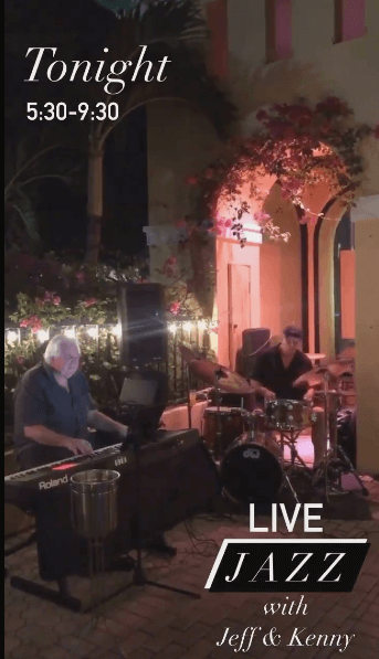 Nightly live music in Vero Beach at Grind + Grape