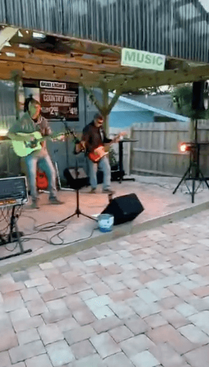 Live music at The Shack in Palm Bay, FL