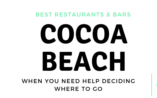 BEST IN THE SPACE COAST: COCOA BEACH, FL Restaurants, Bars & Live music