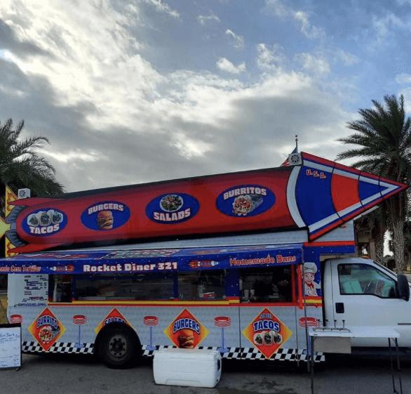 Rocket Diner 321 Food Truck