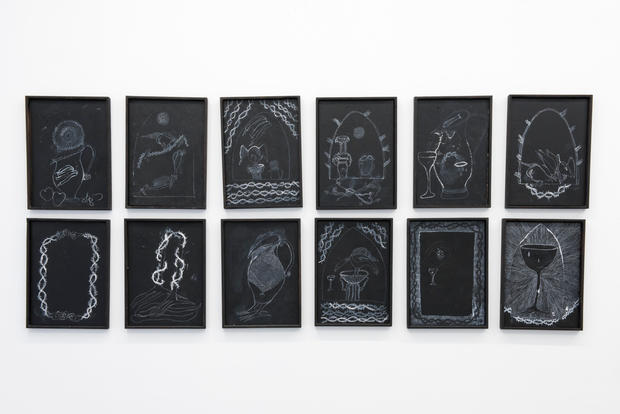 'Black Drawings' ongoing series, TCB Gallery, 2019