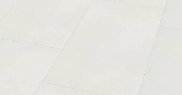 Wineo 800 tile. Плитка Белая Сплошная