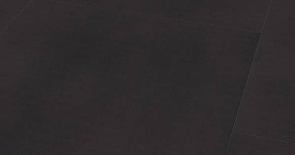 Wineo 800 tile. Плитка Черная Сплошная