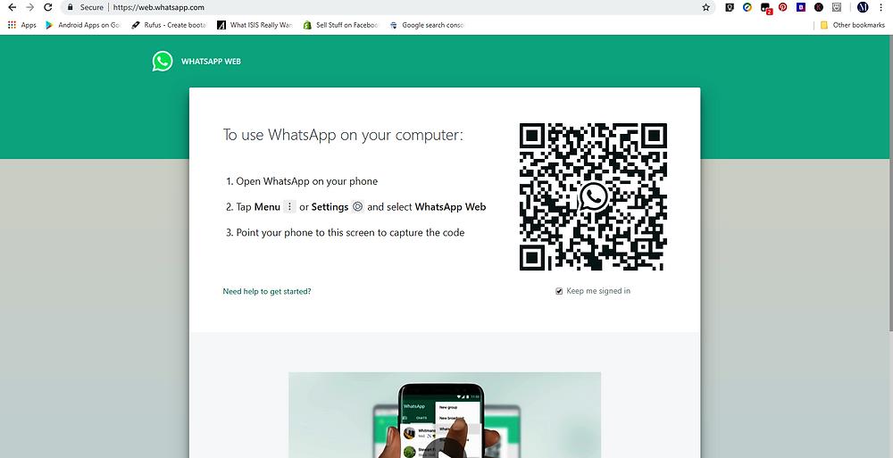 Whatsapp web, how to use whatsapp web, web.whatsapp.com