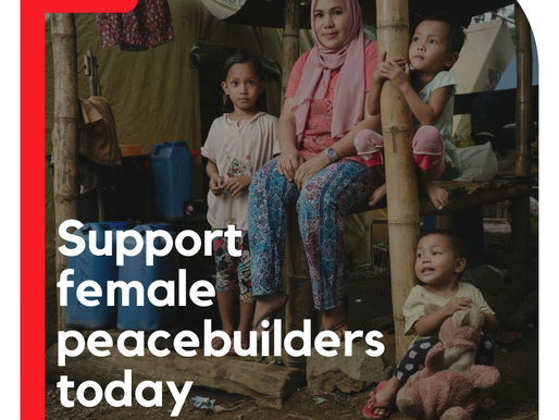 Support Female Peacebuilders Today