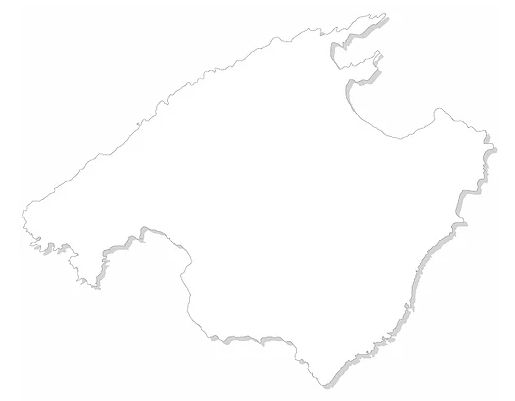Mallorca Skizze