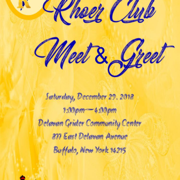 Eta Rho Sigma Chapter Rhoer Club Meet & Greet