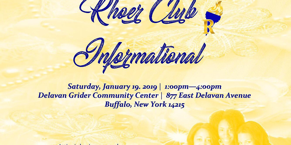 Rhoer Club Informational