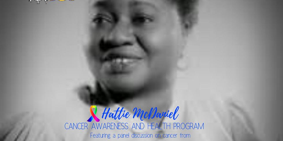 Hattie McDaniel Cancer Awareness and Health Program