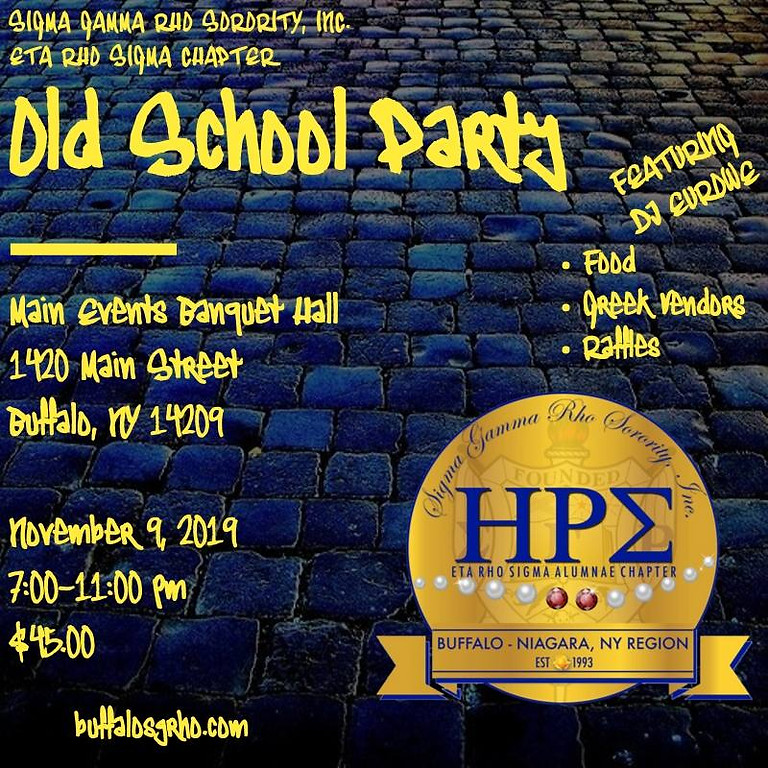 Old School Party on November 9, 2019.
