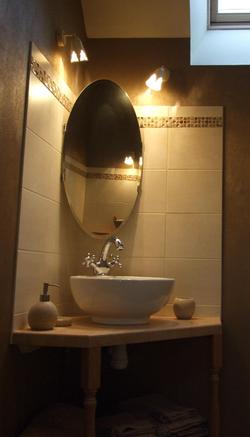 Salle de bain Pierre de Lune