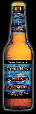 Board Head Blonde Ale Worldwide - California Original! *Tribute to California Coastal Waters & BoardHeads Nationwide &!