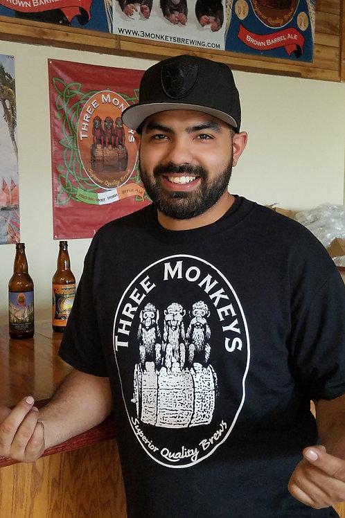 Three Monkeys Monkey Nation! Classic T-Shirt Men