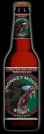 Monkey Mouth Stout *Get Bitten! True American Stout with a sweet Irish style influence!