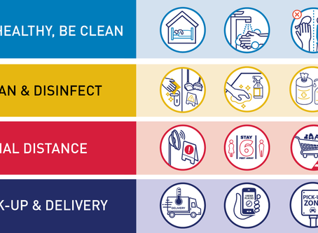 Covid-19 Best Practices for Restaurants, Grocery, and Delivery Services