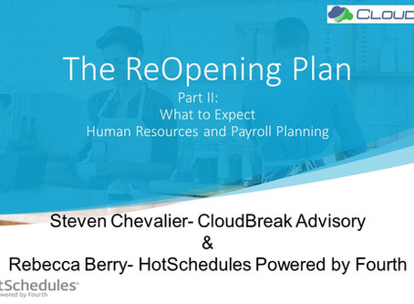 Get ready to get some key information on reopening!