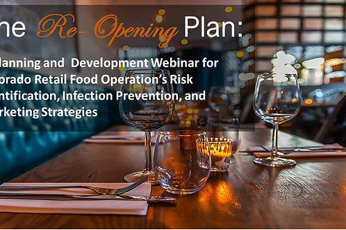 Recorded Webinar May 4, 2020 The ReOpening Plan