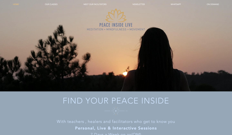Peace Inside Live