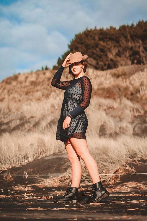 BRANDIE SHORT MAXI DRESS