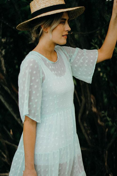 CARRIE 3/4 MAXI DRESS
