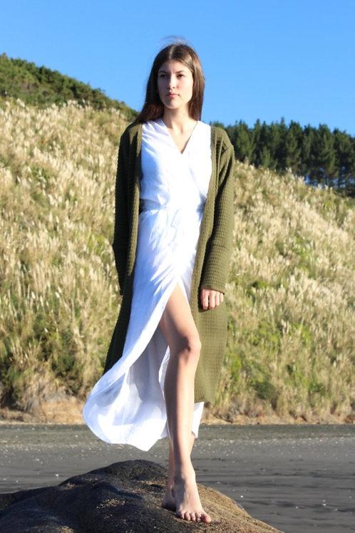 LIGHT CATCHER KIMONO DRESS
