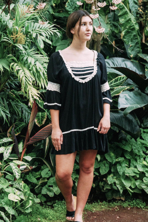 LAGUNA FRILL DRESS