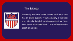 Tim & Linda - Happy Customers!