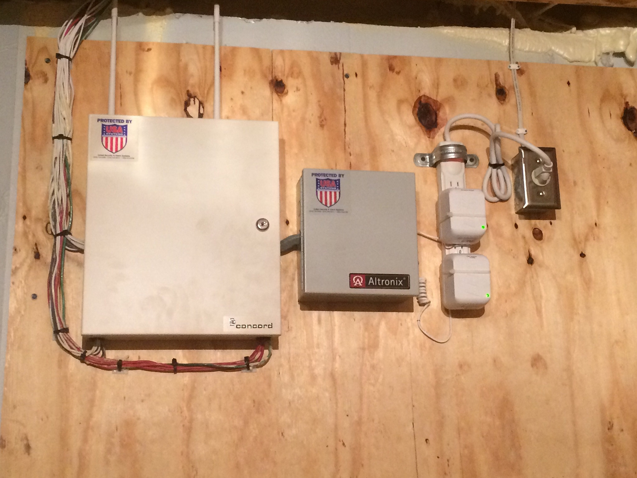 Armory Electric United Security Alarm Systems Home