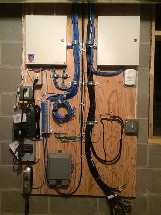 armory electric united security & alarm systems home, wiring diagram, security electrical wiring
