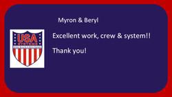 Myron & Beryl