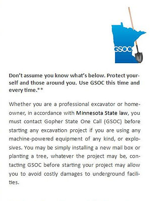 Locate   Armory Electric, Inc.   Gopher State One Call