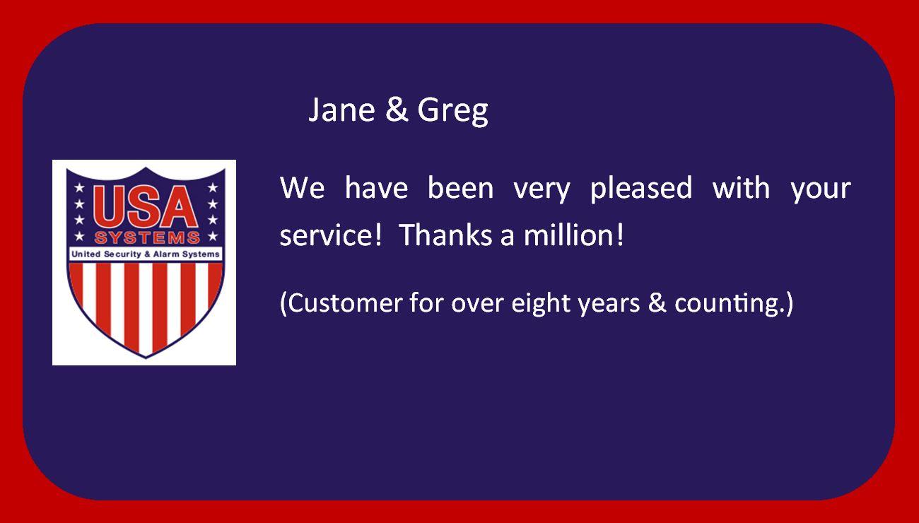 Jane & Greg