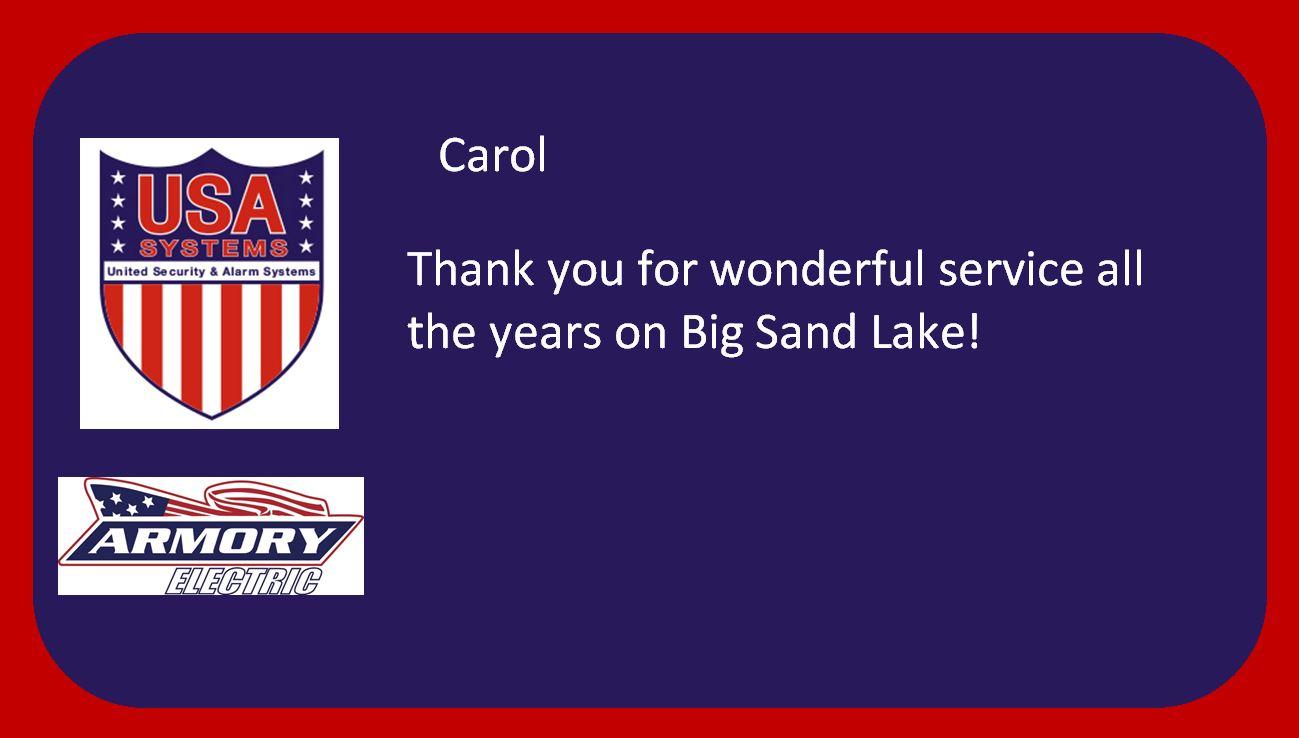 Carol H - Happy Customer!