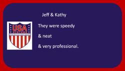Jeff & Kathy