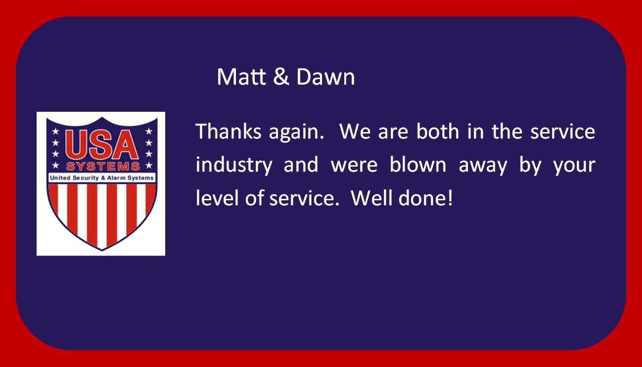 Matt and Dawn