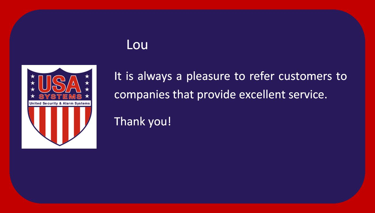 Lou - Happy Customers!