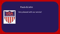 Paula & John