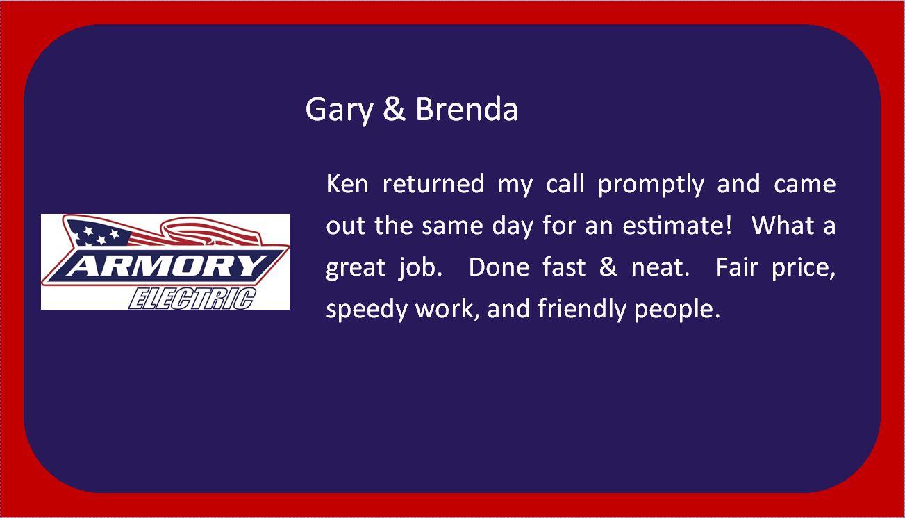 Gary & Brenda