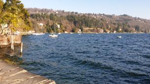 Fuga al lago. Scappo dalla città.