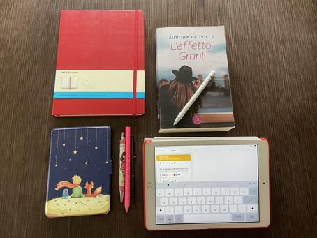 Gli strumenti dello scrittore.