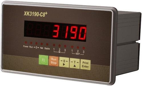 Весодозирующий индикатор XK3190-C8+