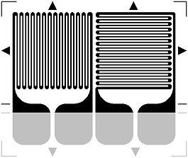 Полумостовые (перпендикулярные)