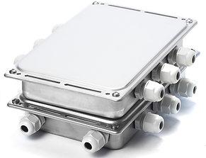Сводящая коробка SJB-С-8 (нержавеющая сталь)