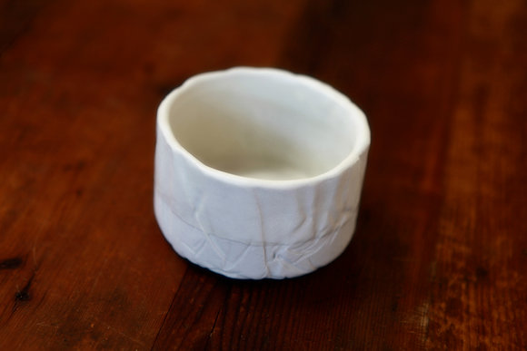 Porcelain Cup in Snow