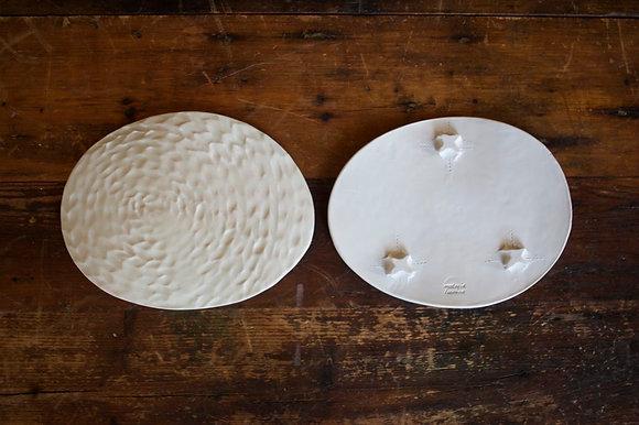 Oval Slump Plate - set of 2