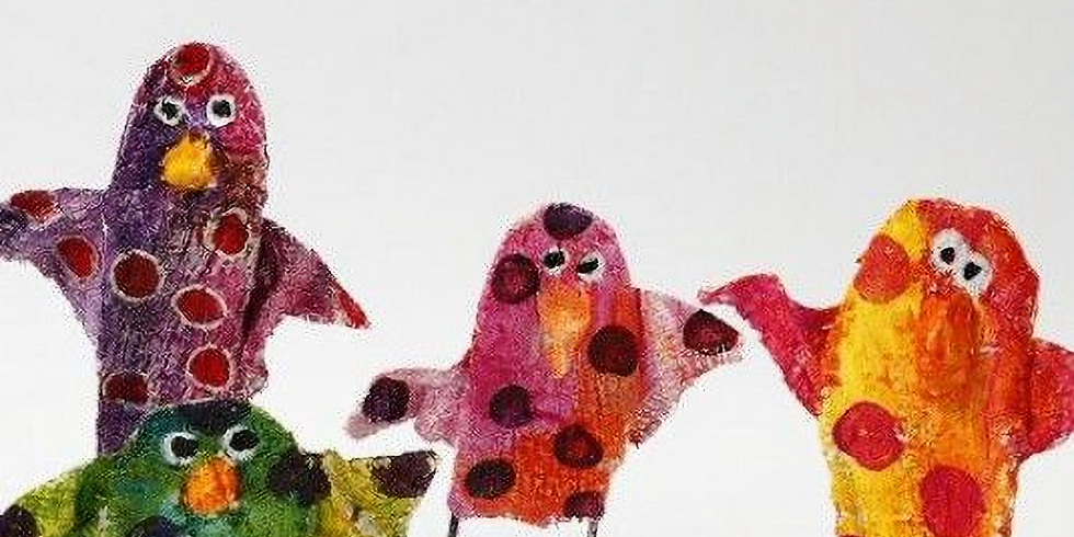 Second Saturday Family Art: Birds on a Wire Frame