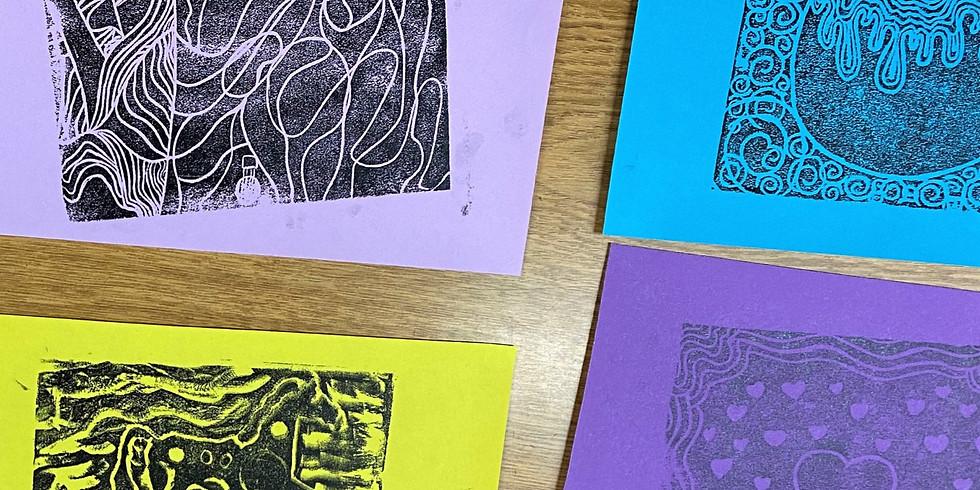 Printmaking Club for Teens - POSTPONED