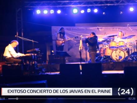 24 Horas: Exitoso concierto de Los Jaivas en el Paine