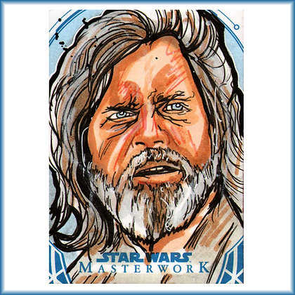 Topps - Star Wars Masterwork - Original Sketch Card - Luke Skywalker