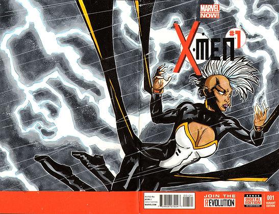 X-Men - Storm - Original Sketch Cover